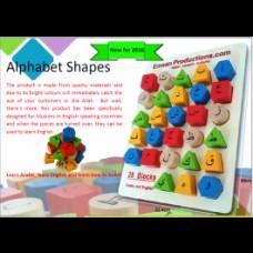 Arabic/English Alphabet Shapes