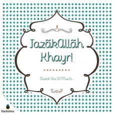 Card: 1706jzk Jazakallah Khair (IGC)