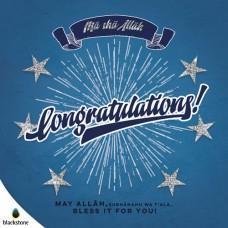 Card: 1709con Congratulations