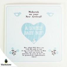 Card: BBE08 A Lovely Baby Boy (IGC)