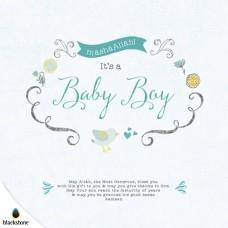 Card: BBY01 Its a Baby Boy