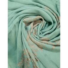 AK16 - Embroidery Phoenix scarf (Mint)