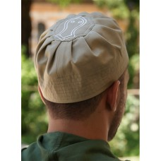 Sandal Pleated Hat Green Shadow (S)