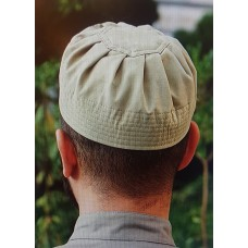 Cotton Pleated Hat Green Shadow