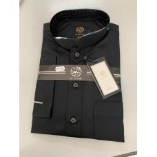 Al Noor - Black Collar Arab Jubbah
