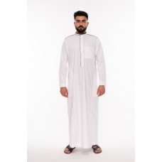 Al Noor - Lomar Inspired  Thoub White