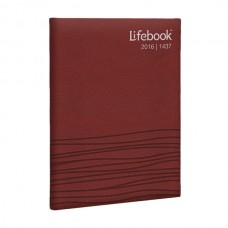 Desk Lifebook - Raspberry Red
