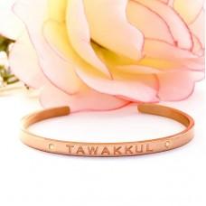 Cuff Bangle (Rose Gold) Tawakkul - Reliance