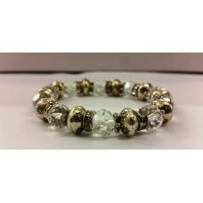 AKJMER1 Bracelet Crystal Clear Single