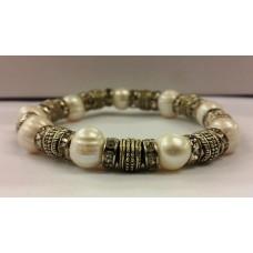 AKJMER3 Bracelet S.Pearl - White
