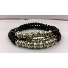 AKJMER5 Bracelet Black Triple