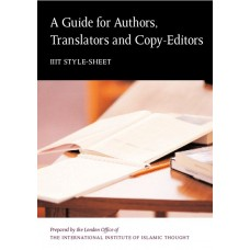 A Guide for Authors, Translators and Copy-Editors