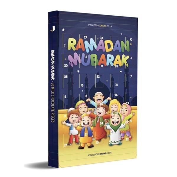 Eid Ramadan Countdown Chocolate Calendar