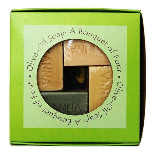 Zaytoun : Four Olive Oil Soap Gift Pack
