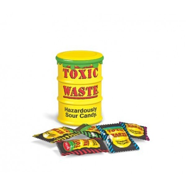 Toxic Waste Yellow Can 42g