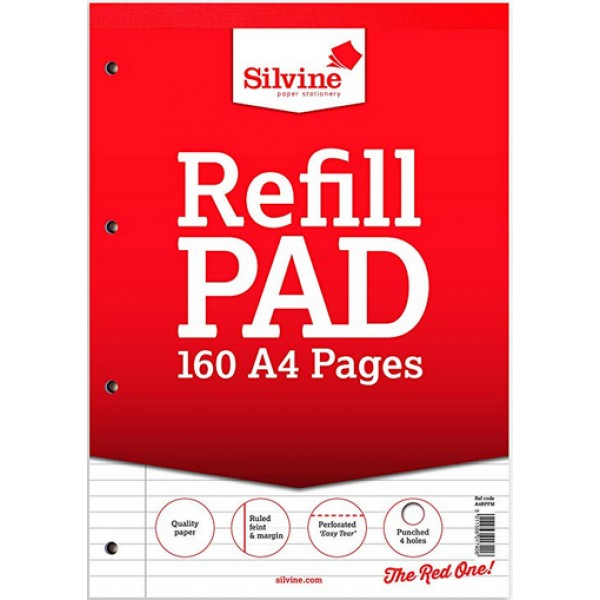A4 Refill pad lined normal