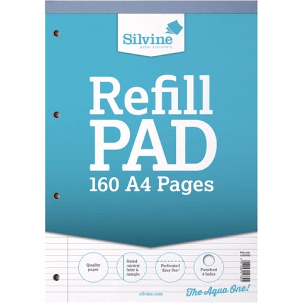NIS - A4 Refill pad lined narrow