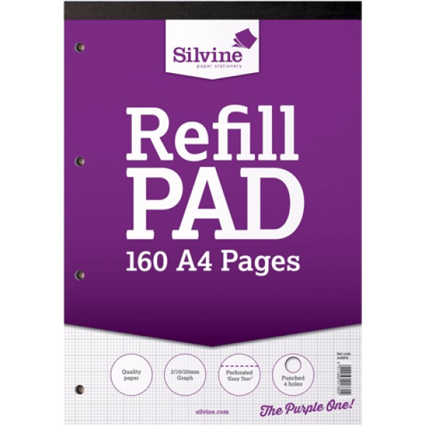 NIS - A4 Refill pad Graphed