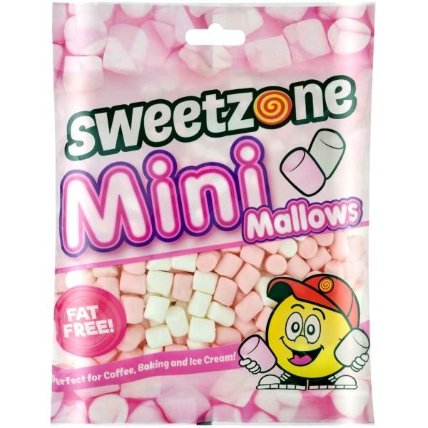 Sweetzone Fat Free Mini Mallows 140g Bags