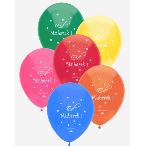 Eid Mubarak Balloons (BA01)