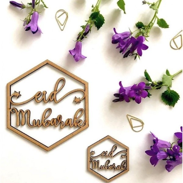 Eid Mubarak Hanging Ornaments Pack (LCW02)