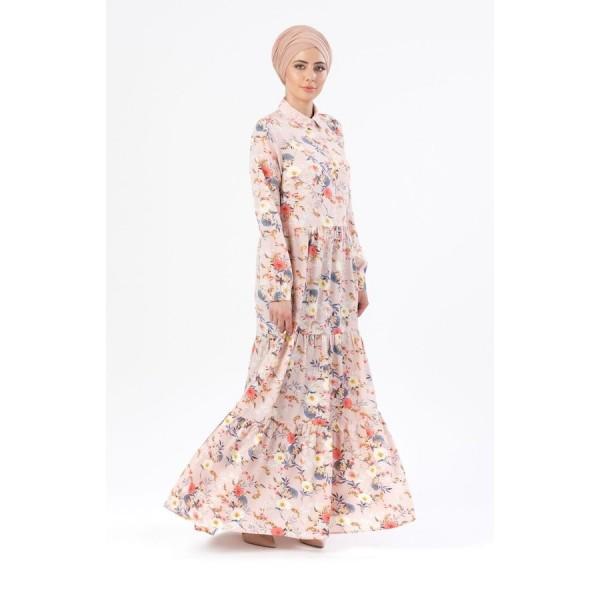Anaya Amaya 10 - Pink Floral Print AB006