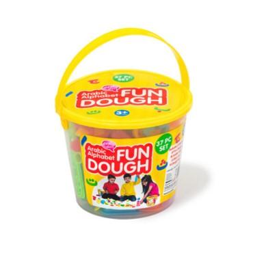 Desi Doll : Fun Dough Arabic Letters
