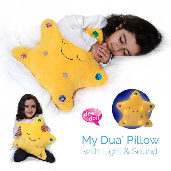Desi Doll : My Dua Pillow - Yellow