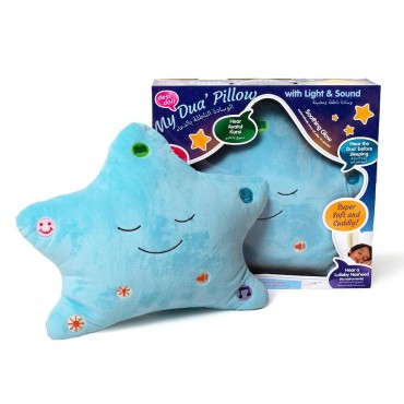 Desi Doll : My Dua Pillow - Blue