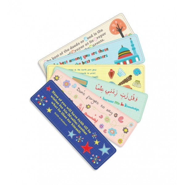 BookMarks : Illustrated , Set of 6