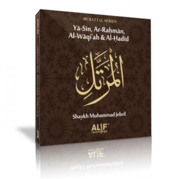 Yasin, Ar-Rahman, Al-Waqiah & Al-Hadid - M.Jebril