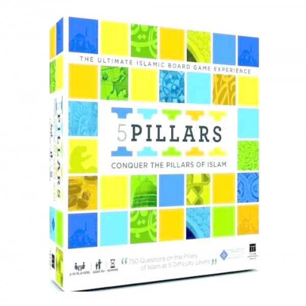 Five Pillars Board Game: Conquer the Pillars of Islam