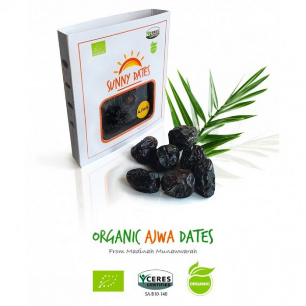 Sunny Organic Ajwa Dates 400g