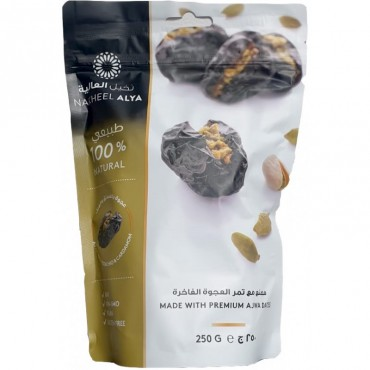 Premium Ajwa Dates With Pistachio 250g