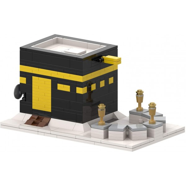 Kaaba Bricks Islamic Toy Building Blocks Set