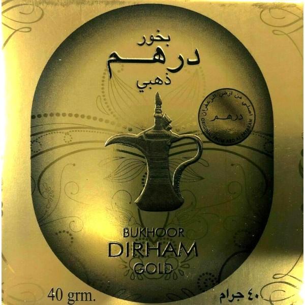 Bakhoor Dirham Gold (40g)