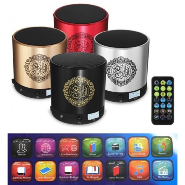 Quran Speaker - Remote with Bluetooth (8GB)