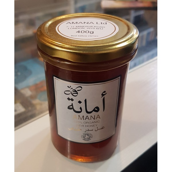 AMANA - Organic Sidr Honey 400g