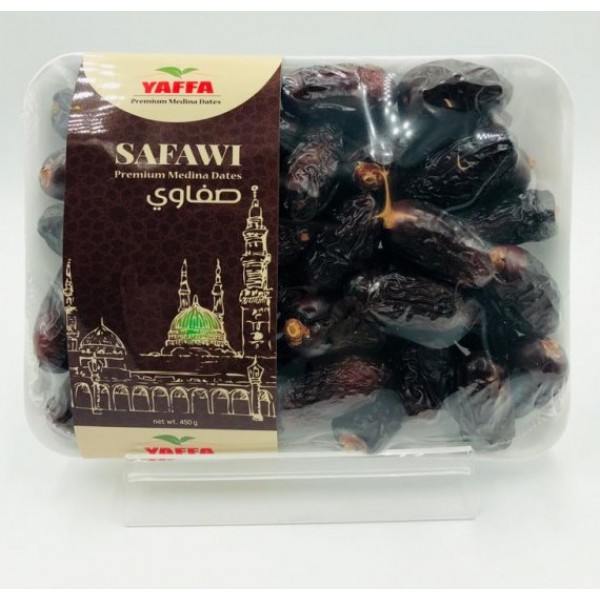 Yaffa : Premium Medina Safawi Dates (450g)