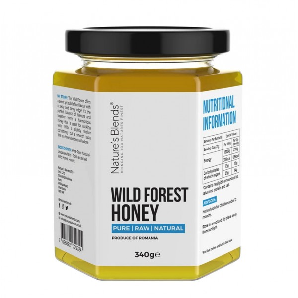 Natures Blends : Raw Wild Forest Honey