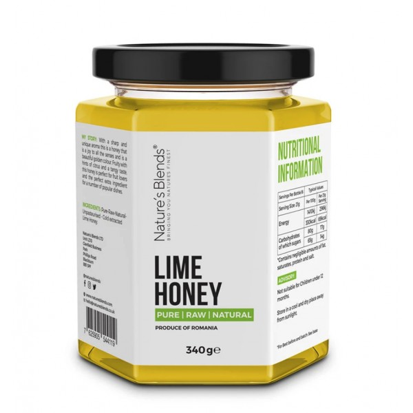 Natures Blends : Raw Lime Honey