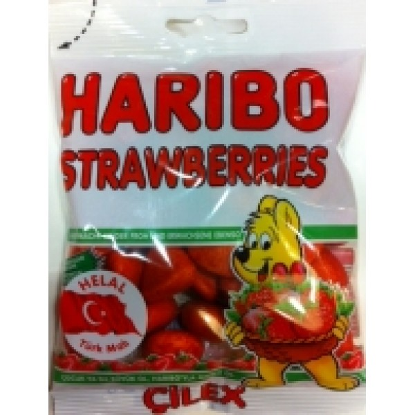 Haribo: Strawberries (80g) CiLEX