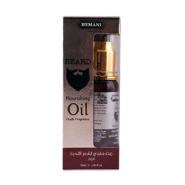 Beard Nourishing Oil with Oudh Fragrance