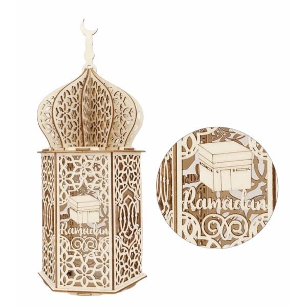 Ramadan Wooden LED Night Light Home Decor