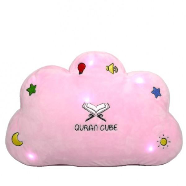 Quran Cube - Quran & Dua Pillow - Pink