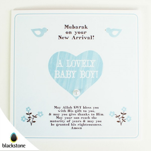 Card: BBE08 A Lovely Baby Boy (IGC)