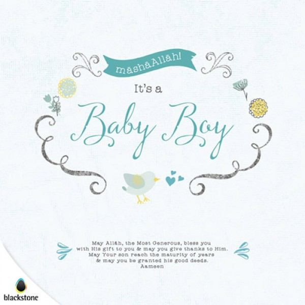 Card: BBY01 Its a Baby Boy