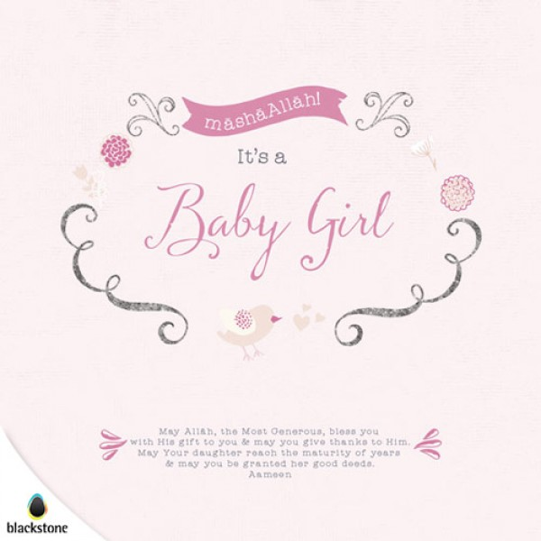 Card: BGL01 Its a Baby Girl