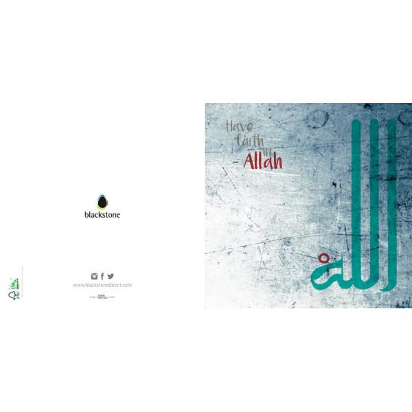 Card: BSALL01 Have Faith In Allah