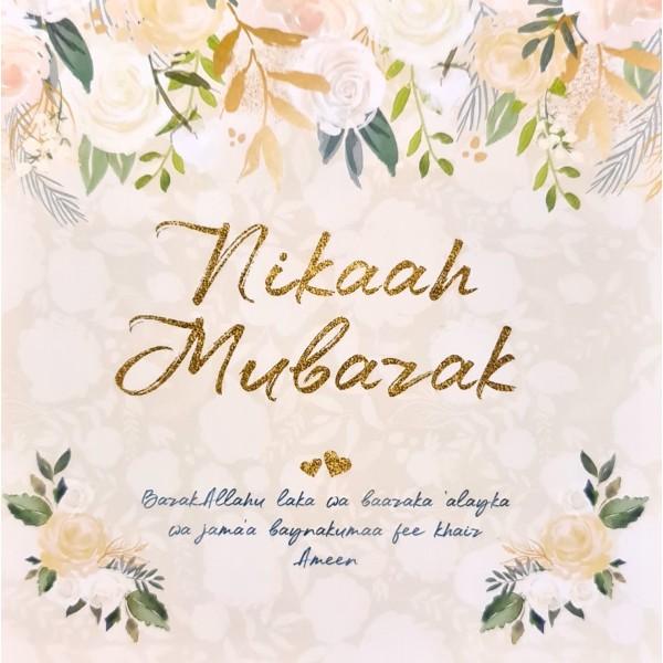 Card: WED801 Nikaah Mubarak